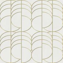 Tapetti Elisir Lissome EL21053, 0,53x10,05m, beige/kulta