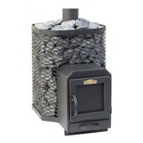Puukiuas Stoveman Heavy 16-M-LS, seinän läpi lämmitettävä (10-16m³)