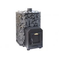 Puukiuas Stoveman Heavy 24-M-LS, seinän läpi lämmitettävä (19-24m³)