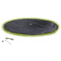 Suojapeite trampoliiniin Exit Supreme/InTerra GroundLevel, ø366cm, musta