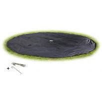 Suojapeite trampoliiniin Exit Supreme/InTerra GroundLevel, ø427cm, musta