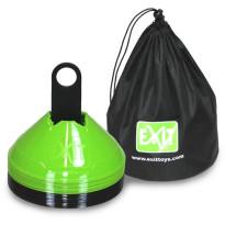 Merkintäkartiosetti Exit, 20 kpl, vihreä/musta