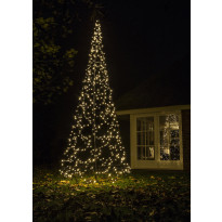 Valokuusi Fairybell LED 640 valoa, 2700K, korkeus 4,2m