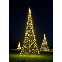 Lipputangon valosarja Fairybell LED 1200 valoa, 2700K, korkeus 8m