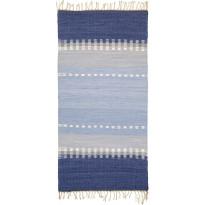 Räsymatto Finarte Ursula, 80x300cm, sininen