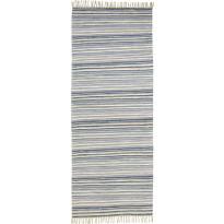 Räsymatto Finarte Elmeri, 80x300cm, sininen