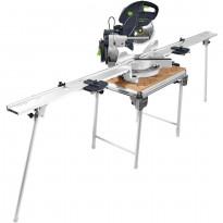 Katkaisusaha+pöytä Festool Kapex KS 120 REB-Set-MFT, varustein