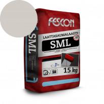 Laattasaumalaasti Fescon SML vaaleanharmaa 15 kg