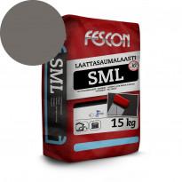Laattasaumalaasti Fescon SML tummanharmaa 15 kg