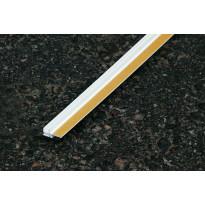 Pielilista Fescon liimattava 9 mm valkoinen