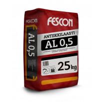 Antiikkilaasti Fescon AL 0,5 mm valkoinen 25 kg