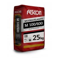 Muurauslaasti Fescon M100/600 25 kg