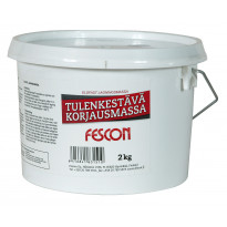 Tulenkestävä korjausmassa Fescon 2 kg