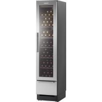 Kahden lämpötilan viinikaappi Festivo 45 VL, 206x44cm, musta/rst