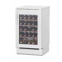 Viinikaappi Festivo 50 VL, 50x81/86cm, valkoinen