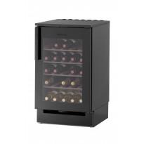 Viinikaappi Festivo 50 VL, 50x81/86cm, musta