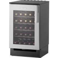Viinikaappi Festivo 50 VL, 81/86x50cm, musta/rst, integroitava