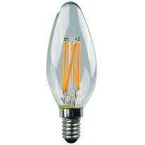 LED-polttimo Finvalo, E14, 4.5W, 3000K, kirkas