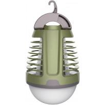 Hyönteisansa Finvalo, LED-valolla, vihreä