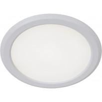 LED-alasvalo Lucide Tendo-LED, Ø11.6 cm, valkoinen