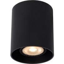 LED-spottivalaisin Lucide Bodi, GU10, musta