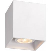LED-spottivalaisin Lucide Bodi, 8.2x8.2cm, valkoinen