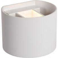 Seinävalaisin Lucide Xio LED pyöreä, 1x4W, valkoinen