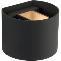 Seinävalaisin Lucide Xio LED pyöreä, 1x4W, harmaa