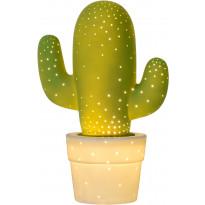 Pöytävalaisin Lucide Cactus, Ø20 cm, vihreä