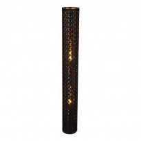 Lattiavalaisin Globo Harald, Ø15x119cm, 40W, musta