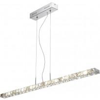 Riippuvalaisin Paul Neuhaus Jola LED, 18x1W, 230V, IP20, kromi/kristalli