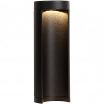 LED-pylväsvalaisin Lucide Combo, Ø9x25cm, 7W, musta