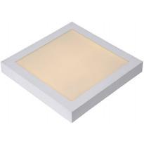 Kattovalaisin Lucide Brice-LED, 30W, 230V, 3000K, 1957lm, IP40, valkoinen