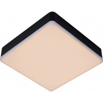 LED-kattovalaisin Lucide Ceres-LED, IP66, musta, Verkkokaupan poistotuote