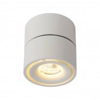 LED-kattospotti Lucide Yumiko, 78x78mm, 8W, himmennettävä, valkoinen