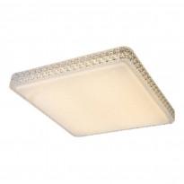 LED-plafondi Globo Kelly, 54.5x54.5cm, 48W, himmennettävä, valkoinen