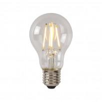 LED-lamppu Lucide filamentti E27, Ø6cm, himmennettävä, 5W, 2700K, kirkas