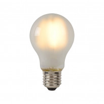 LED-lamppu Lucide filamentti E27, Ø6cm, himmennettävä, 5W, 2700K, maitolasi