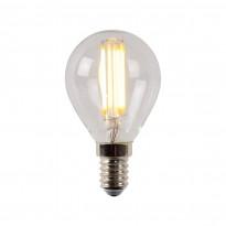LED-lamppu Lucide filamentti E14, Ø4.5cm, himmennettävä, 4W, 2700K, kirkas