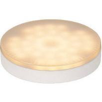LED-lamppu GX53 Lucide 7W, 230V, 3000K, 560lm, IP20, Ø 75mm, valkoinen