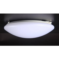 Kattovalaisin FocusLight Basic LED, 12W, 230V, 3000K, 850lm, IP20, Ø 260mm, opaali
