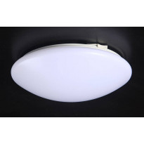 Kattovalaisin FocusLight Basic LED, 18W, 230V, 3000K, 1250lm, IP20, Ø 340mm, opaali