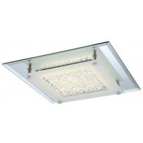 Kattovalaisin FocusLight Vista LED, 12W, 230V, 4000K, 1010lm, IP20, kromi