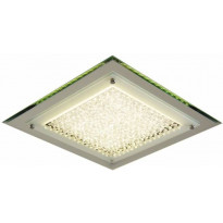 Kattovalaisin FocusLight Vista LED, 17W, 230V, 4000K, 1460lm, IP20, kromi