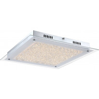 Kattovalaisin FocusLight Glitter LED, 17W, 230V, 3200K, 1300lm, IP20, kromi