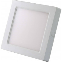 Kattovalaisin FocusLight Cubo LED, 12W, 230V, 960lm, 3300K, IP20, kanttinen