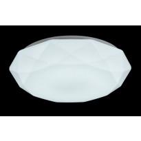 LED-kattovalaisin FocusLight Timantti, 21W, 230V, IP20, Ø 390mm, valkoinen