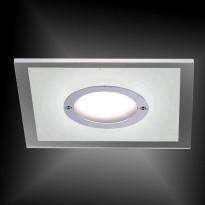 Upotettava valaisin Paul Neuhaus Lumeco LED, 5,5W, 230V, 3000K, 350lm, IP44, kromi