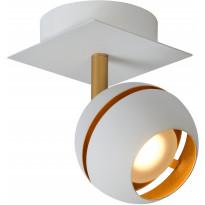 LED-spottivalaisin Lucide Binari, 1x4.5W, valkoinen