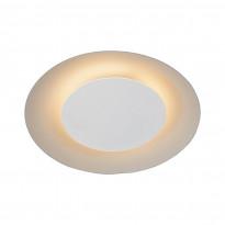 LED-plafondi Lucide Foskal, Ø21.5cm, 6W, valkoinen